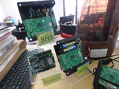 元々はデジタルサイネージ制御用STB向けに作ったそうですが、最近はIoT機器向けで徐々に売れているのだとか。もしかして、こっちで儲かるのか?