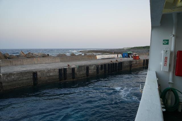 コンパクトな港にナイス接岸!