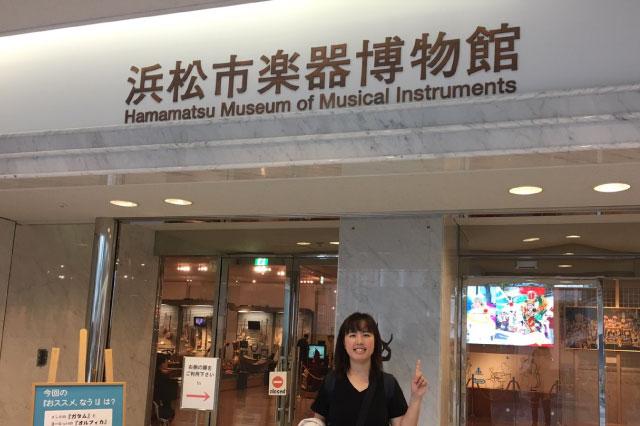 楽器博物館に到着。客層は子どもからおじいちゃんおばあちゃんまでさまざま