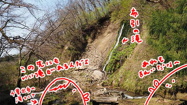 全国の滝をまわっているという旅人によるとさらに30分歩いた所の「筥滝(はこだき)」も見応えがあるとか。時間ないので割愛。