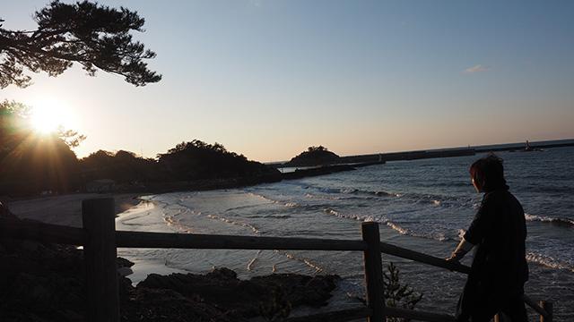 これがリアス式海岸かあ。ちゃんと帰れるかな…(18:00)