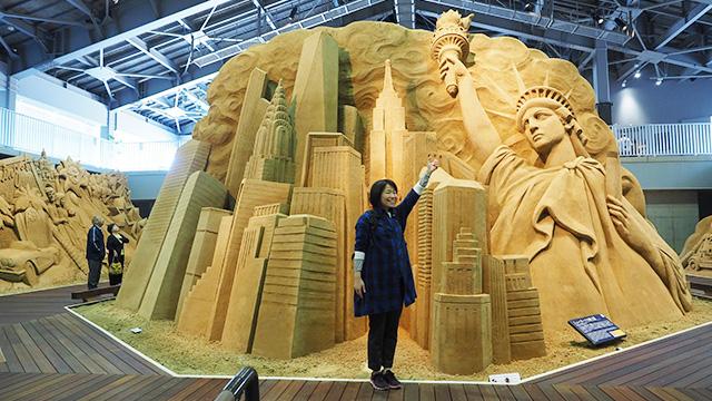 ニューヨークのおのぼりさん写真がとれた