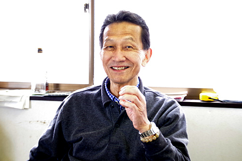 いかやの阿部秀次さん。