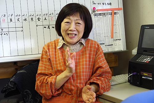 「わたしは東京の生まれだから~」と笑う奥さん。どんなに新鮮だろうと、ダメな人は一定数いる。それがほや。