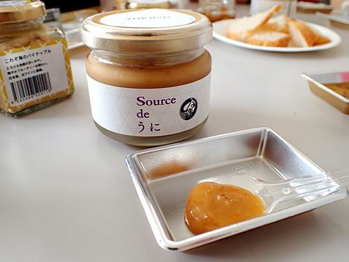 ほやじゃないけど、塩ウニのオイル漬けに惚れてしまった。ものっすごいウニ感なんですよ。