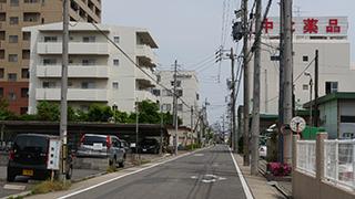 名古屋の工場や住宅街に本社があった。元はシヤチハタの工場だったところだそうだ