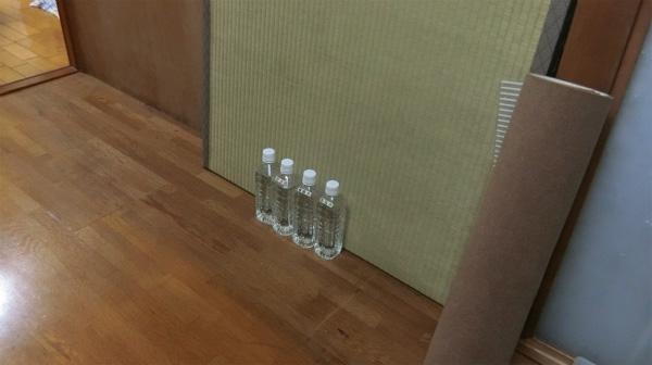 殺菌したペットボトルで約10日間の賞味期限だそうです。早めに使おう。
