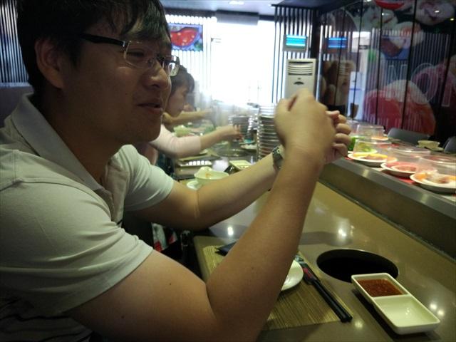 そんなKICHI-KICHIへ友人のラムくんと食べに来た。