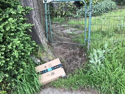 本文と全然関係ないんだけど、スタバに行った帰りに見かけたamazonの箱。捨ててあるんじゃなくて配達済らしい。