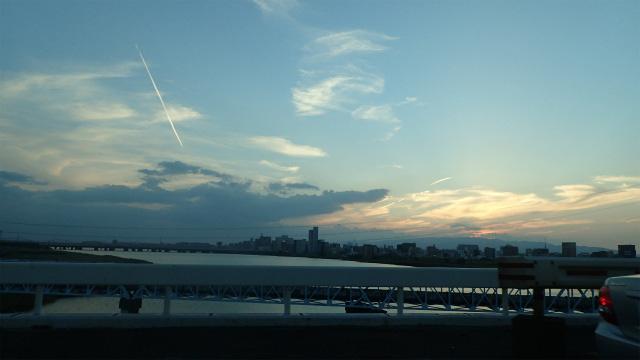 淀川、水多い!