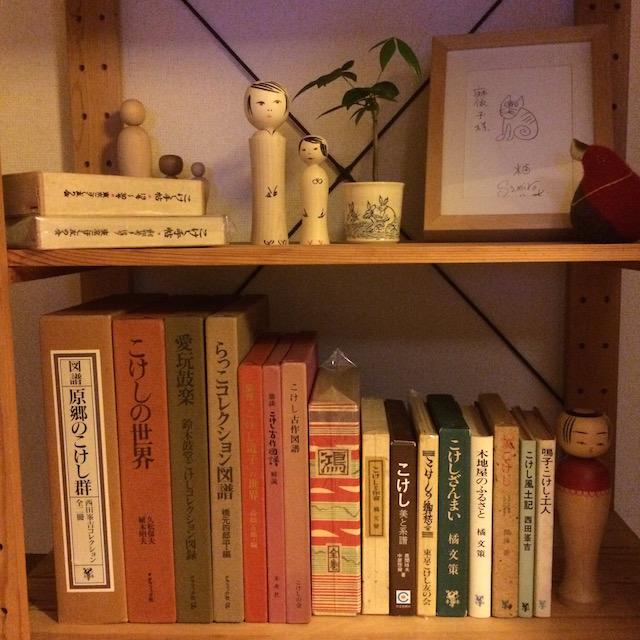 渋すぎる書棚