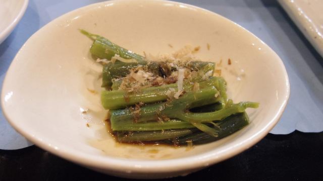 19品目、醤油味の茎