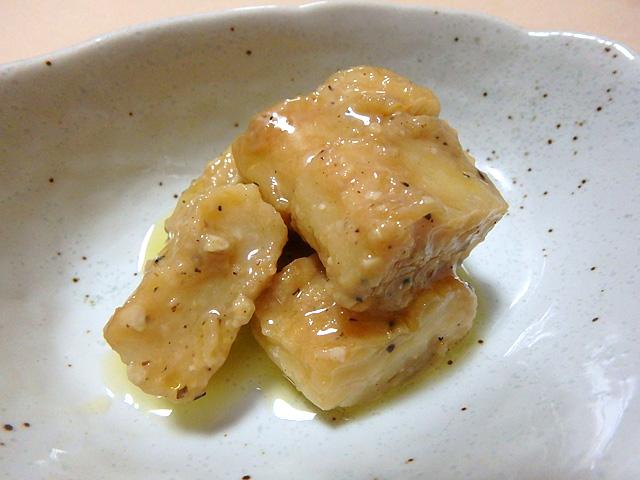 白身魚を味噌で煮込むとこんな感じだろうか。
