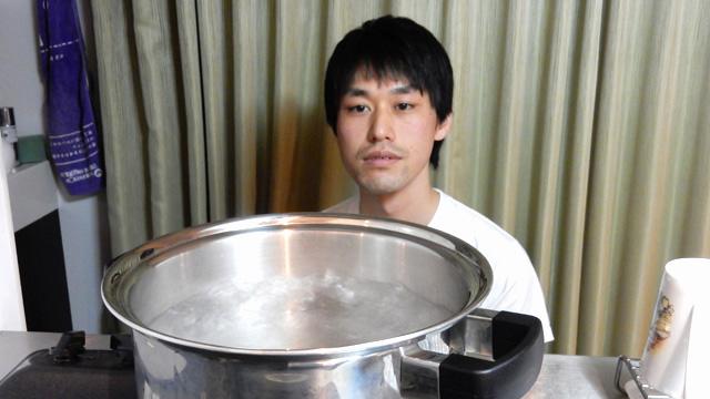 後日、古賀さんおすすめの「鍋」で湯気を見た。確かに湯気の量が多くて良かった。(湯気、写真には写せなかったけど)