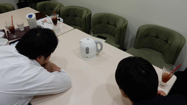 ちなみに江ノ島さんは沸騰を待つ時間も好きらしい。