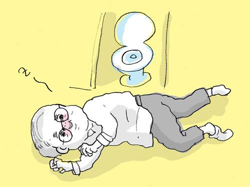 気持ちよく歌ったあと、トイレの床に幸せそうに寝そべっていたおじいちゃんが忘れられない