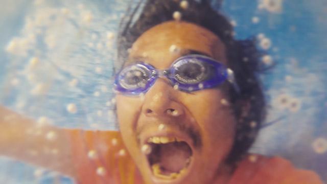 南国の海に潜っています!