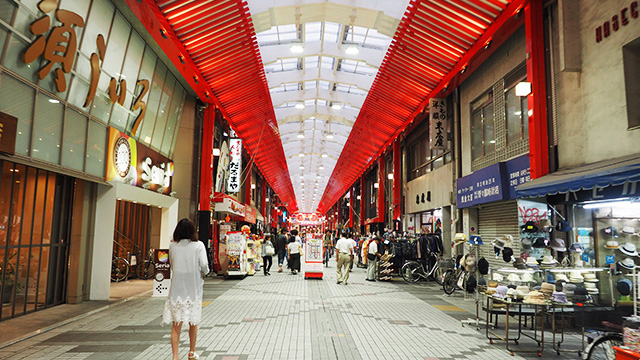 一時はさびれたものの、今にぎわいを取り戻しているという大須商店街。