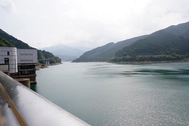 貯水量は芦ノ湖と同じくらいある