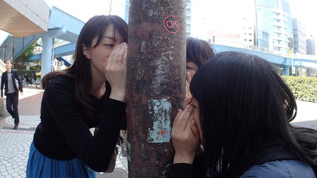 ついでに道中鉄柱のにおいをかぐ。なんかPerfumeっぽいと思ったが写真を見返したら完全に気のせいだった