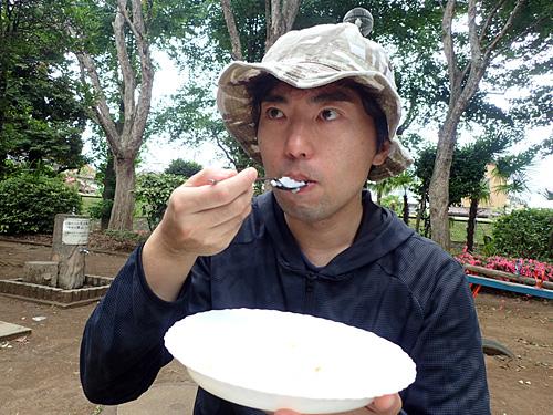塩分のないおかゆは、白米よりも味のなさを感じる。