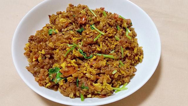 究極のパラパラチャーハン。ネパール料理のアンダチウラです。うまいです。