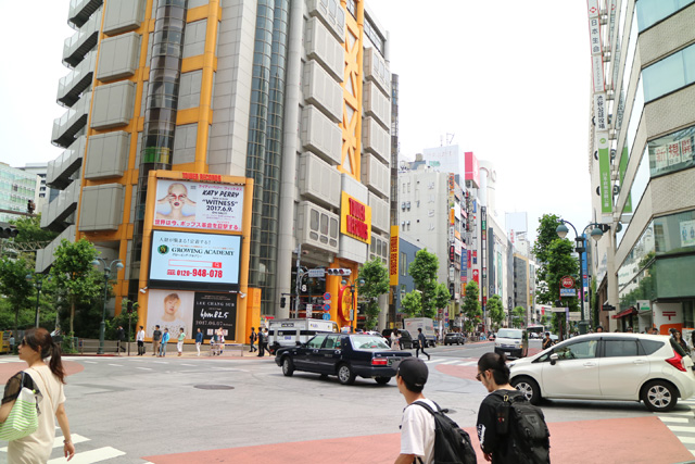 渋谷に来た。
