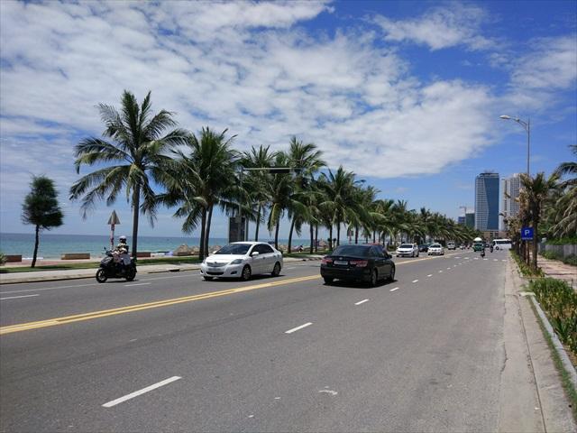 海沿いの景色。