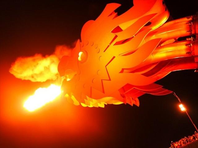 前回火を見たときの写真を置いておきます。