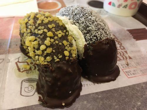 ゴールデン&ココナツチョコレート。