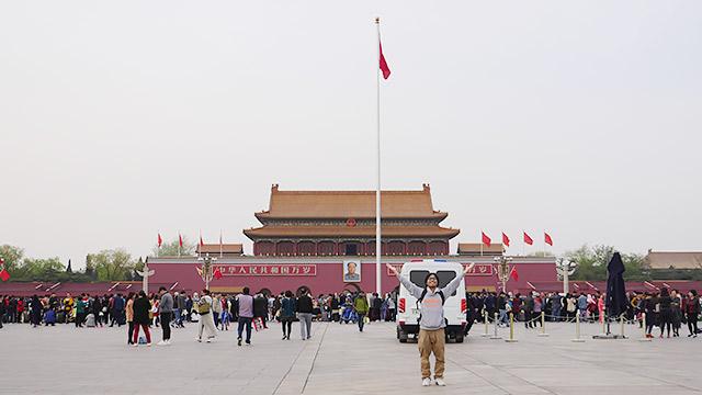 万里の長城を見に中国に来ました!