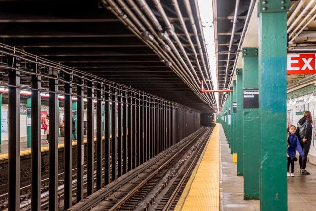 ぼくも、だんだんこの鉄骨の連なりこそニューヨーク地下鉄の重要な鑑賞ポイントなのだとわかり始めた。