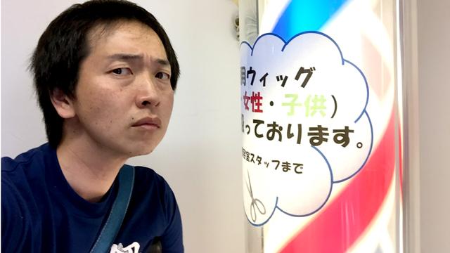 そういえば大きな病院には床屋があるなと思っていました。足を折って入院していた加藤さんによる突撃レポートです。加藤さんはこの後無事退院しました。(安藤)