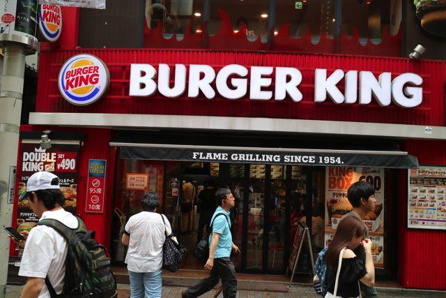 他と比べるとハンバーガーがアメリカサイズのバーガーキング