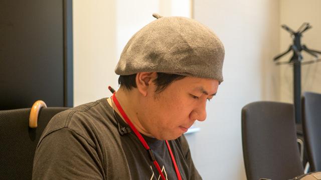 ベレー帽は藤子・F・不二雄先生リスペクトだそうです