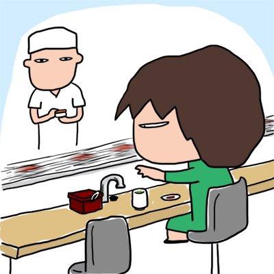 鮮度が落ちない光速回転寿司(イメージ)