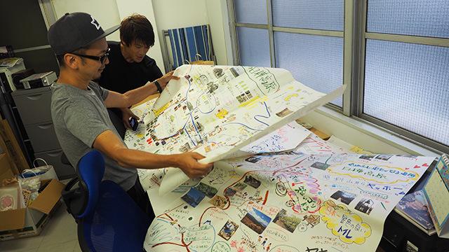 手書き地図推進委員会では、新しく手書き地図を作る活動もしているのだ。これまでに作られた手書き地図は30以上という。
