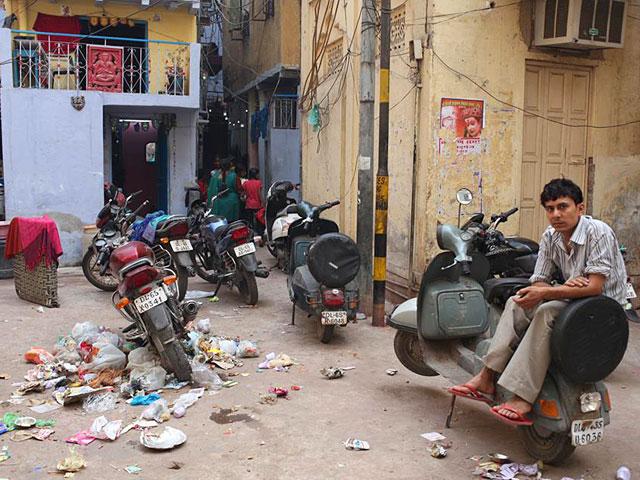 何でもないインドのおっさんの写真