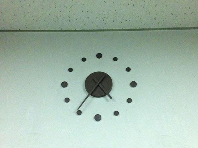 何でもない時計の写真
