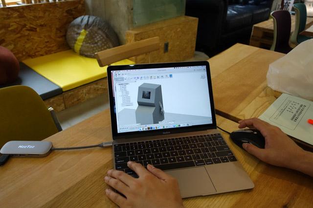 3Dモデルを作ってパーツの寸法を出す