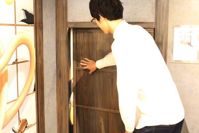 仕掛けの一つとして、次へ続く入り口が隠し扉のようになっているのもワクワク感があっておもしろかった