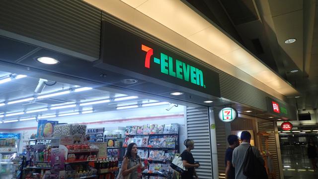 香港、セブンイレブンが多い