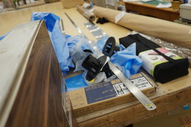 工具も相応に大きく、4mの金尺があった