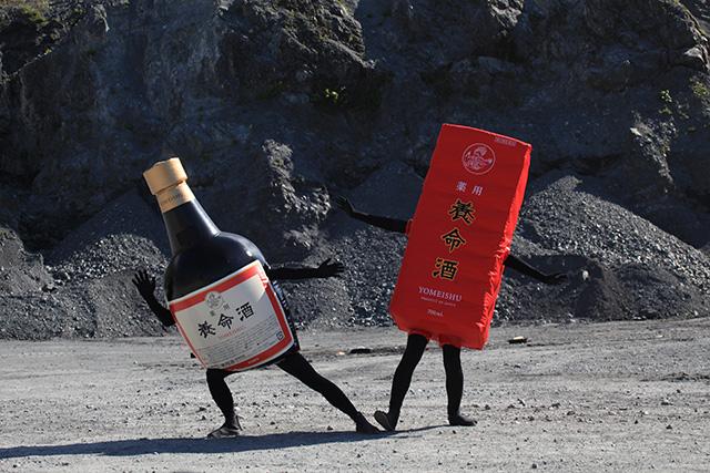新・養命酒のビンくんと新ハコさんを今後ともよろしくね!