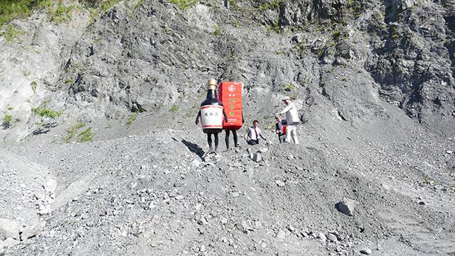 具体的に言うと、崖の上とか、砂利を積み上げた山の上とか怖かった。