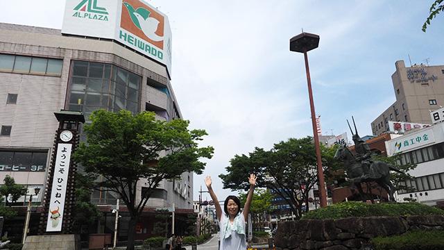 滋賀県のデパートといえば平和堂、らしい。
