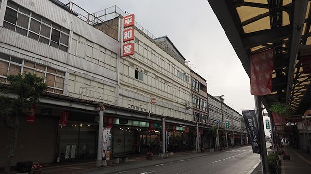 そんな平和堂1号店は彦根にある。ちなみに店名は初代社長が自分の息子(現社長)の平和(ひらかず)の名前からとったそうだ。いい話だ。