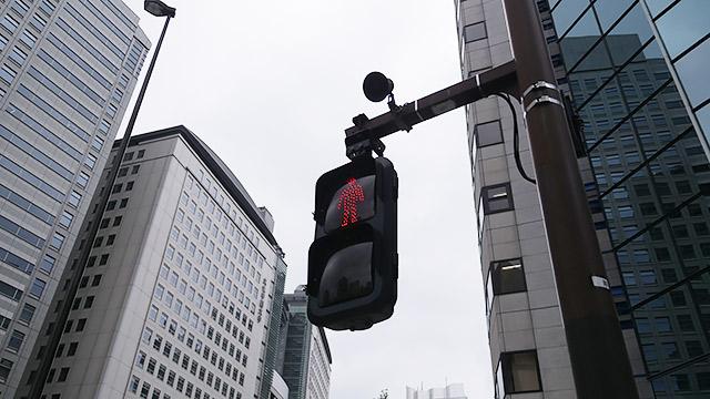 信号のリズムで、
