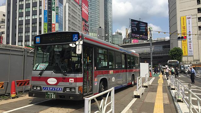 終点の渋谷駅まで