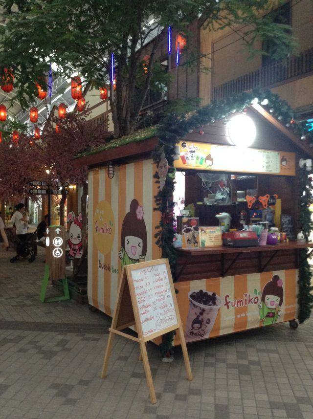 タイ全土で展開する「fumiko」もある。ふみこはタイでよく知られる名前なのだ。